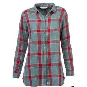 Woolrich Caldera Double Cloth Tunic Shirt